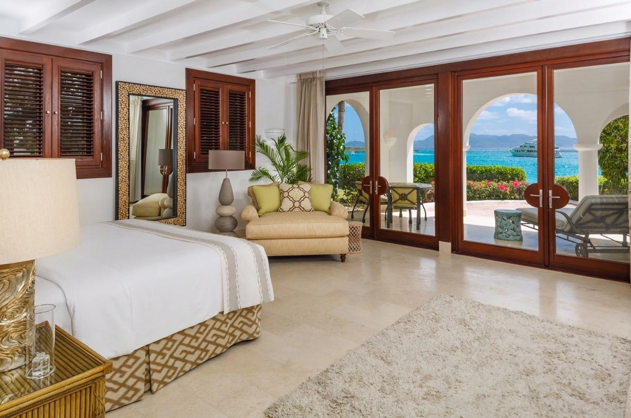 Las suites del lujoso Cap Juluca no poseen llaves ni tarjeta para cerrar la puerta de los cuartos (Crédito: Cap Juluca)