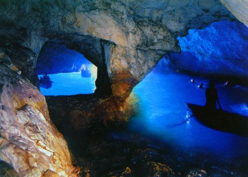 cómo llegar a la gruta azul