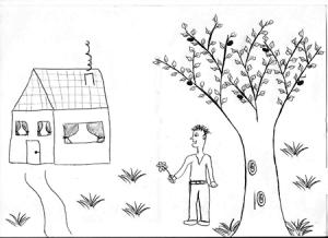 test laboral de la casa y el árbol