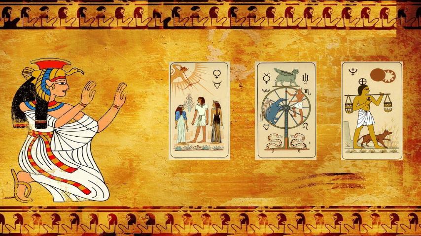 Resultado de imagen para tarot egipcio