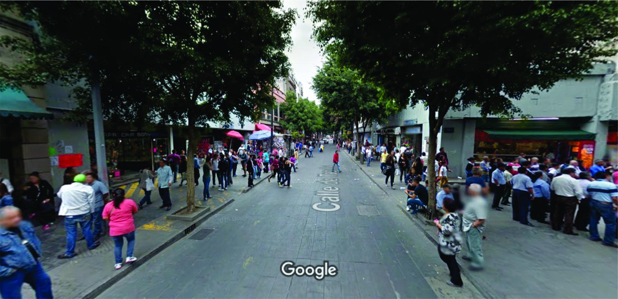 calle más antigua Tacuba Mexico DF
