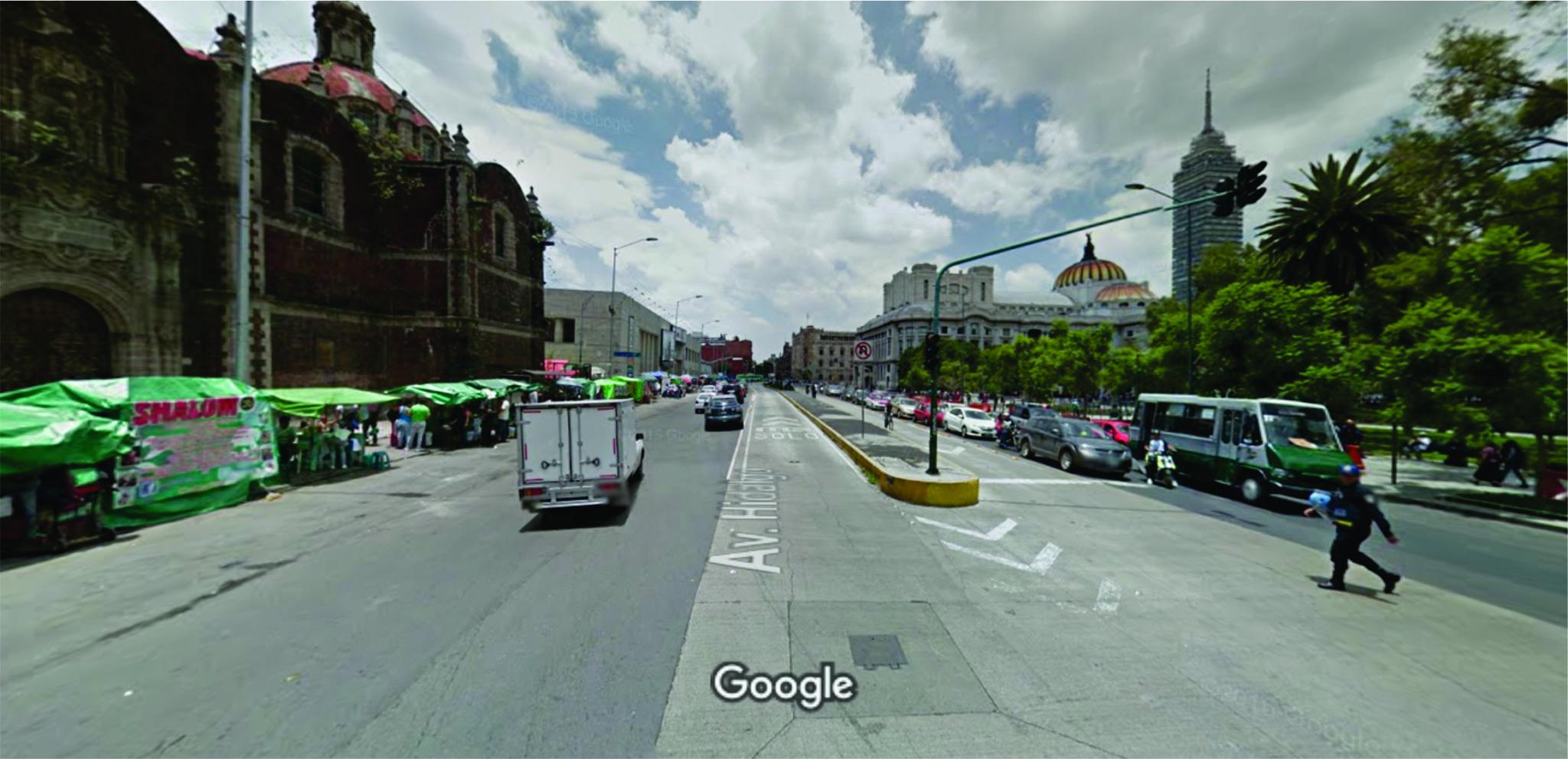 calle más antigua avenida hidalgo Mexico DF