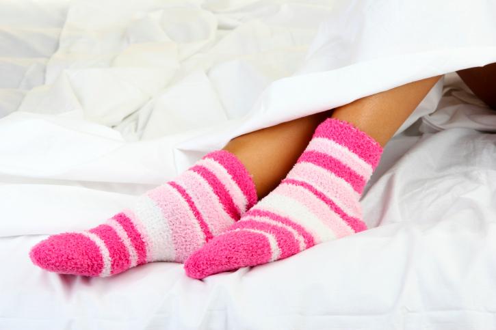 pies frios medias