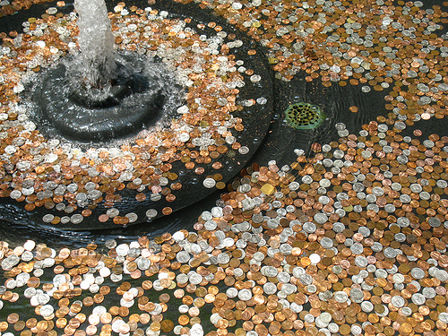 monedas fuente