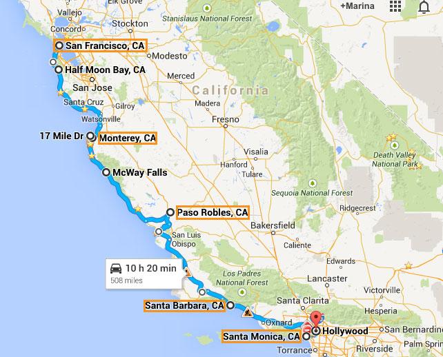 Usa Mapa De La Costa Pacifica La Nasa De Usa Mapa Politico Usa - Mapa de texas usa