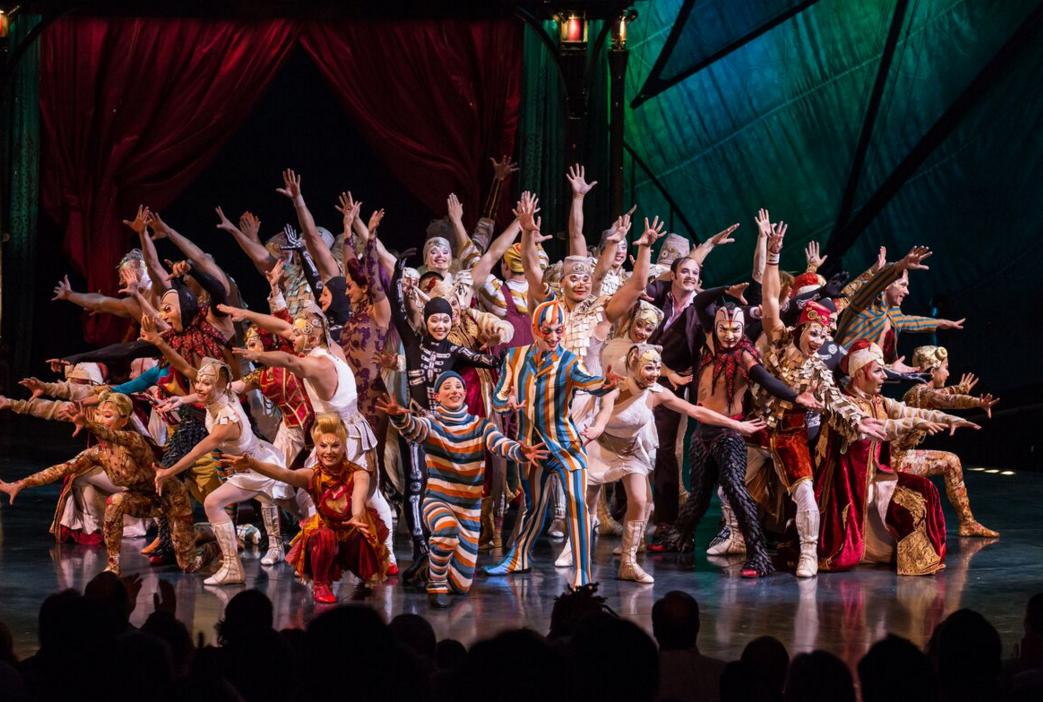 Cirque du soleil vuelve a buenos aires el mejor circo del for Espectaculo circo de soleil