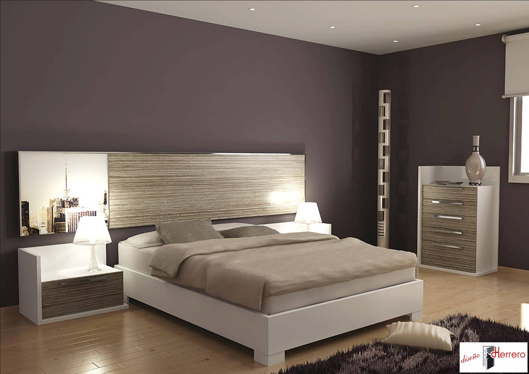 Desconectar y relajar c mo ser m s feliz en el - Luces de pared para dormitorio ...