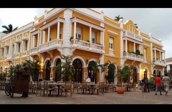 plazasanpedro Cartagena de Indias