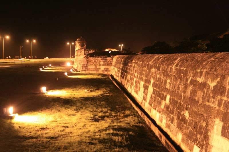 muralla cartagena de indias