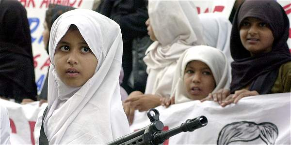 niñas musulmanas
