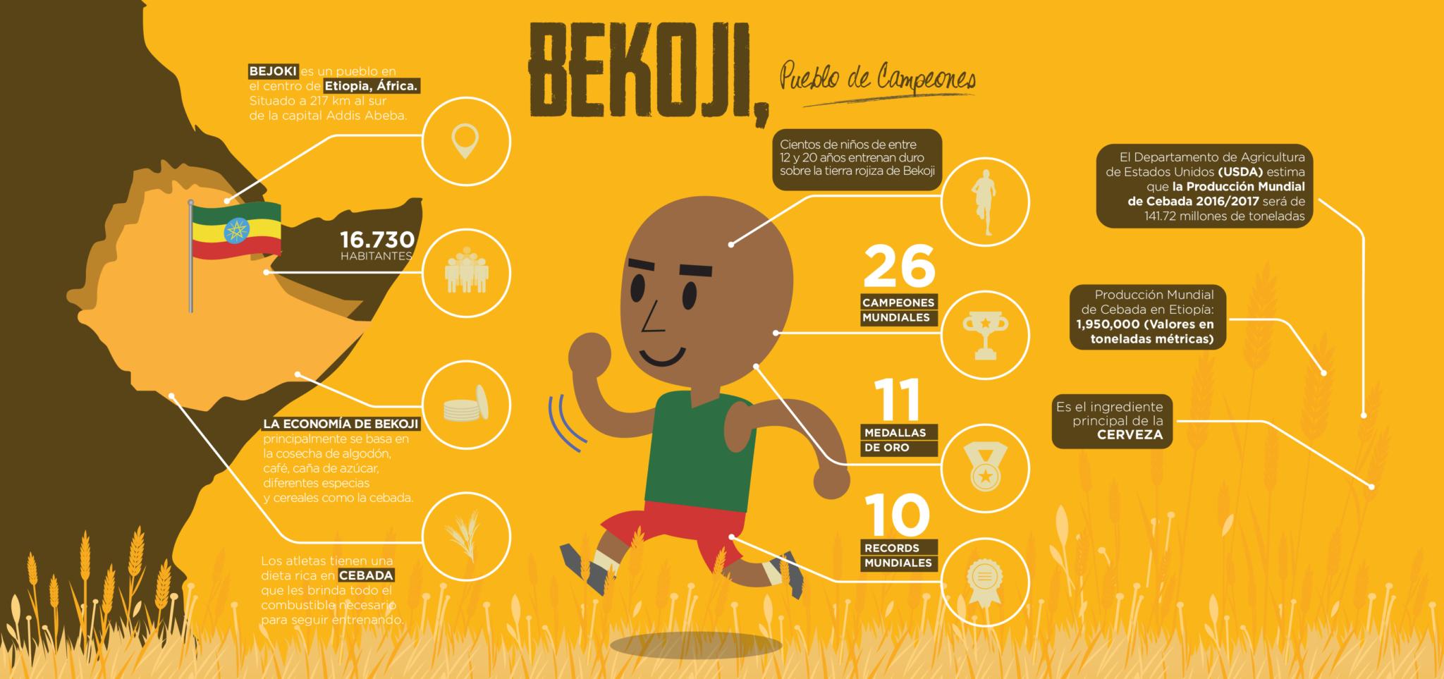 Infografía Bekoji