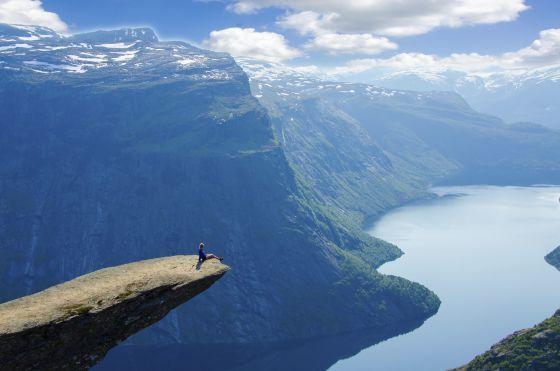 Púlpito de los troles. Noruega