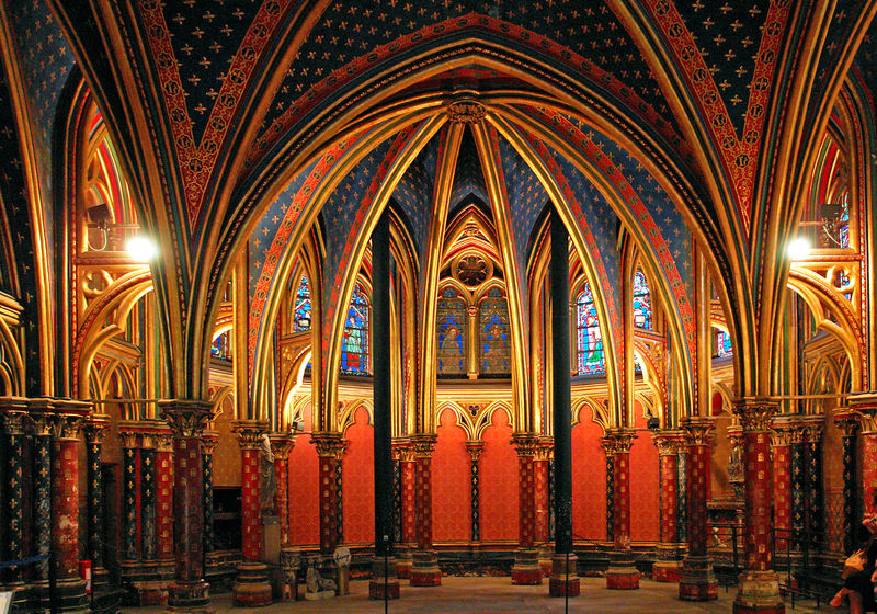 Sainte Chapelle, Paris, Ile de France, Frankreich