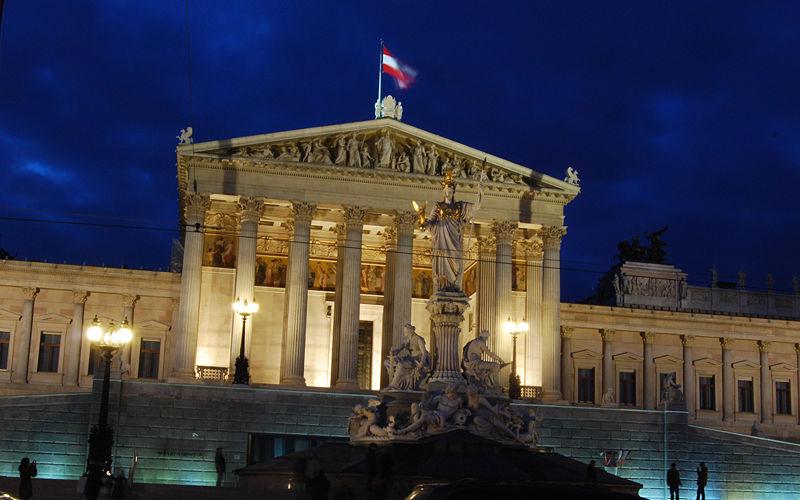 parlamento austriaco en viena