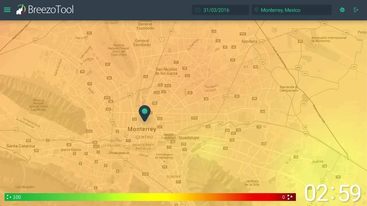 calidad de aire breezometer 2