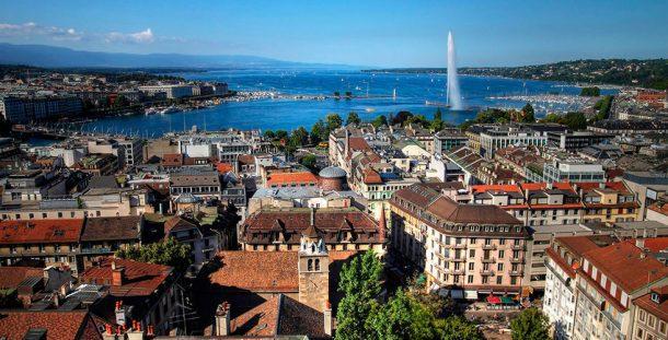 """Ginebra, Suiza, es la sede europea de la ONU y sede principal de la Cruz Roja. Se llama también """"capital de la paz"""", combinando una tradición humanitaria con un aire cosmopolita. Se quedó con el 4to lugar."""