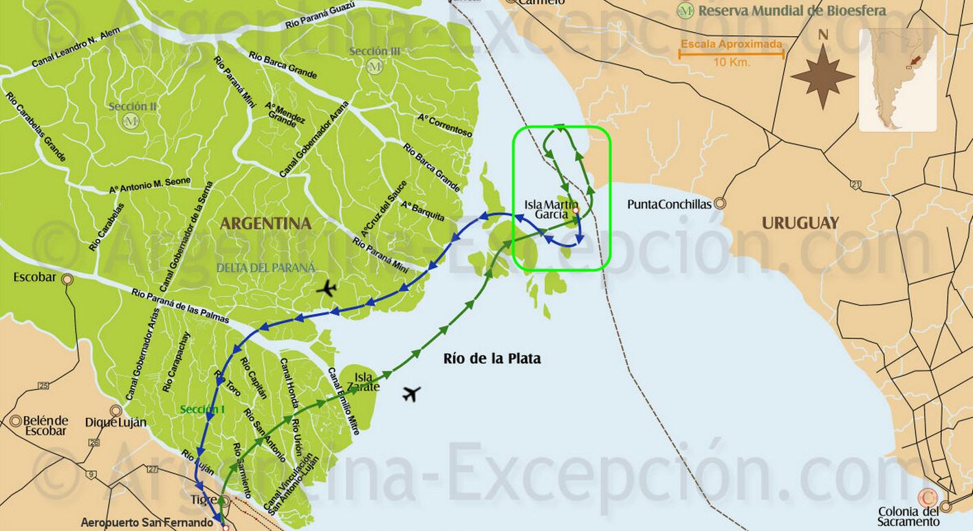 qué ver en la Isla Martín García