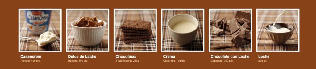 cuáles son los ingredientes de la chocotorta