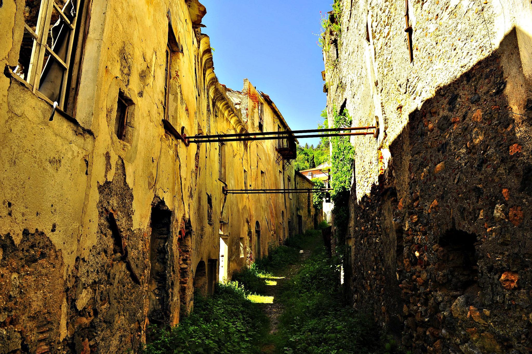 pueblos fantasma Balestrino 2