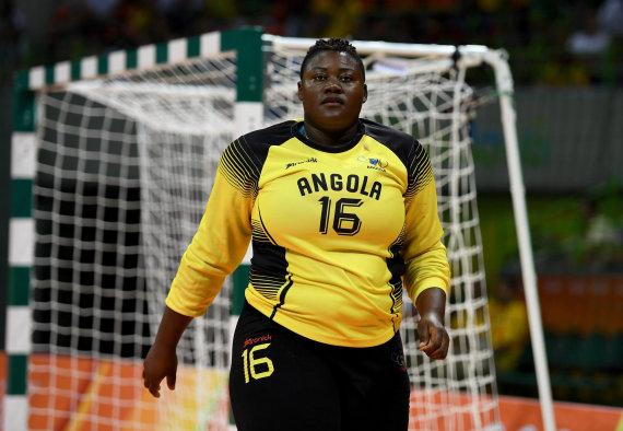 Angola arquera handball 2