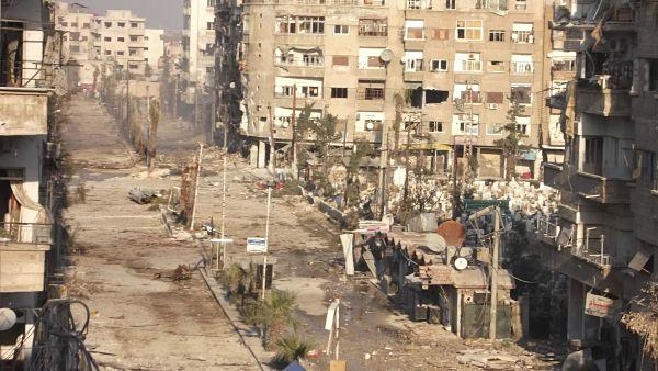 Damasco atacada con misiles