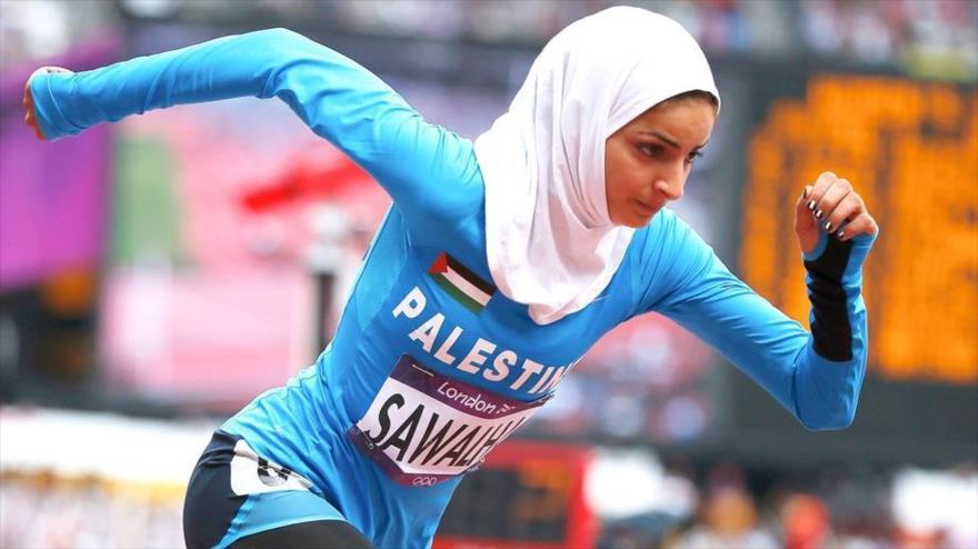 Deportista Palestina