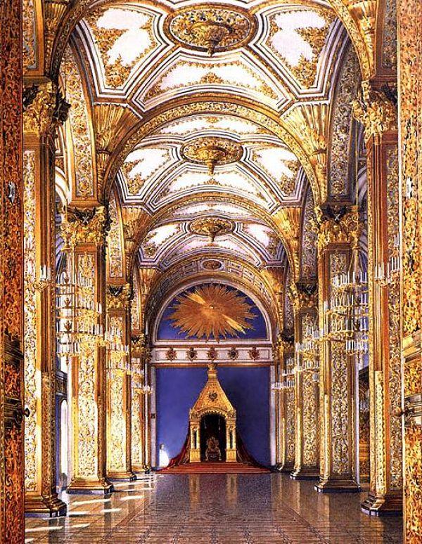 Salón de la Orden de san Andrés en el Gran palacio del Kremlin
