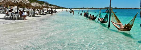 Jericoacoara playa brasilera