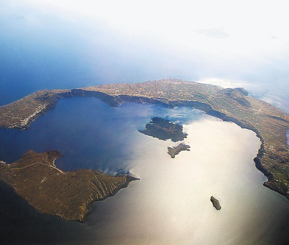 Santorini aerea