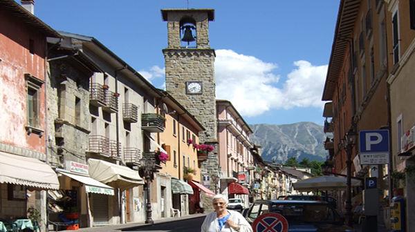 AMATRICE, ITALIA ANTES DEL TERREMOTO