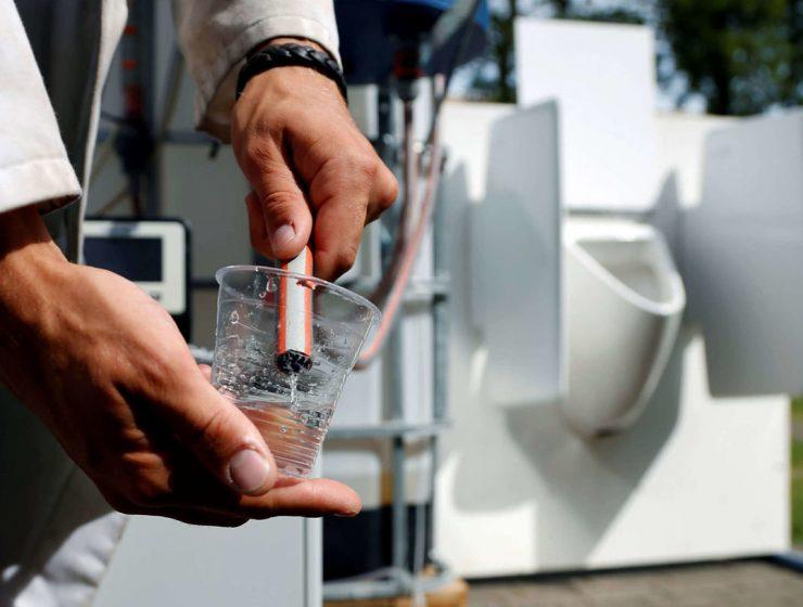orina agua potable