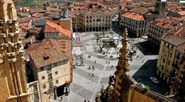 Plaza Mayor de Segovia