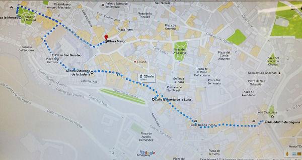 Segovia_recorrido
