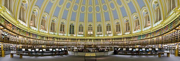 Museo Británico - Sala de lectura