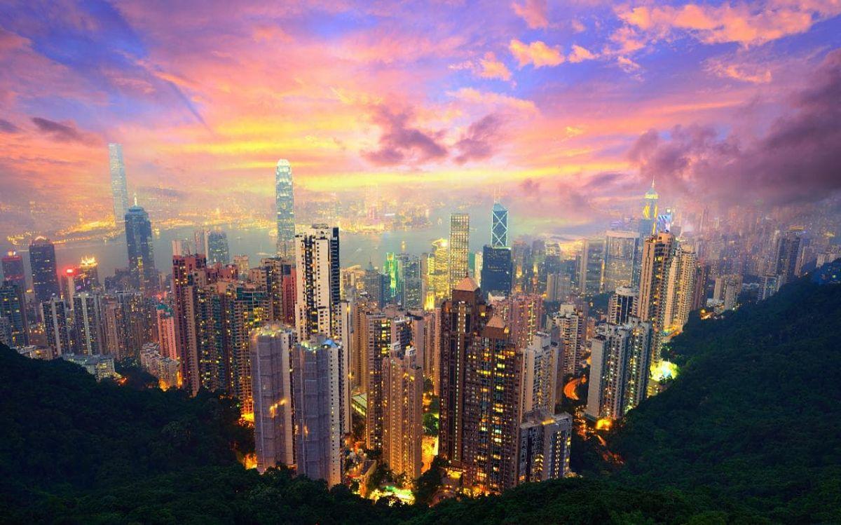 Hong Kong la ciudad de los 1200 rascacielos