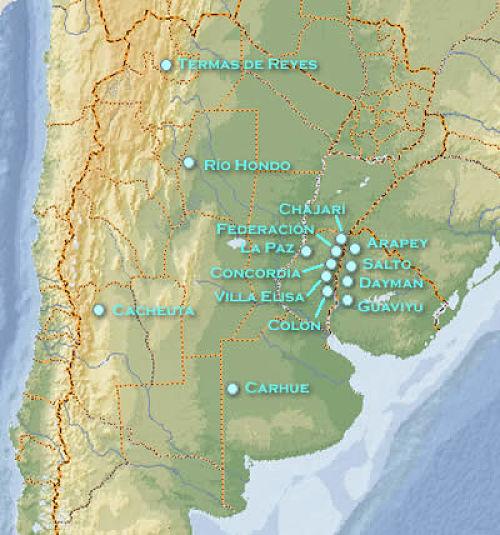termas en argentina