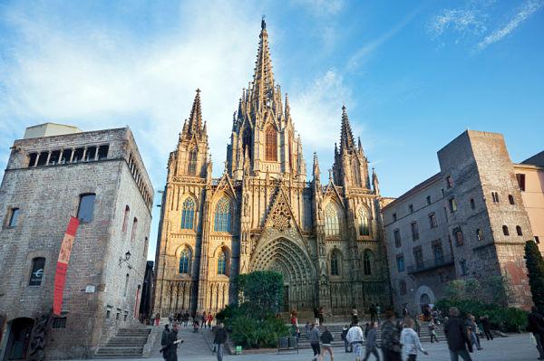 Catedral Barcelona Barrio Gótico
