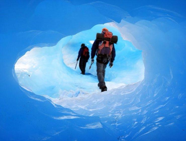 entrada parque nacional los glaciares