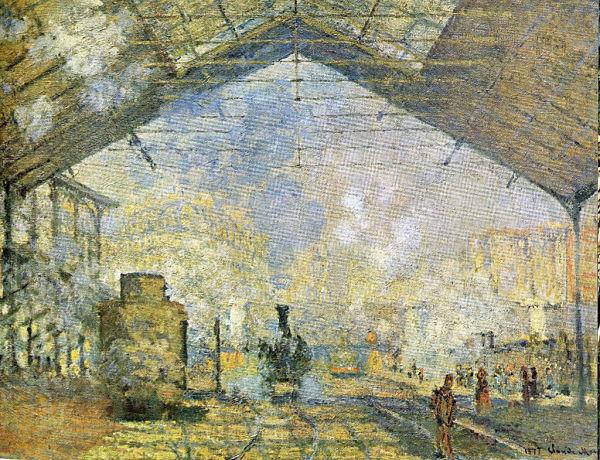 Monet Gare Lazare