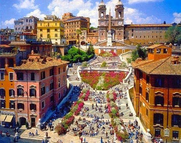 Piazza Spagna Roma 600
