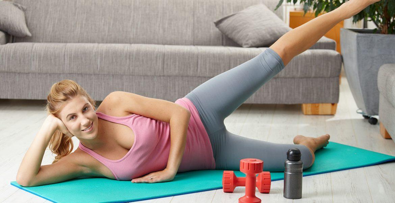 7 ejercicios para hacer en casa