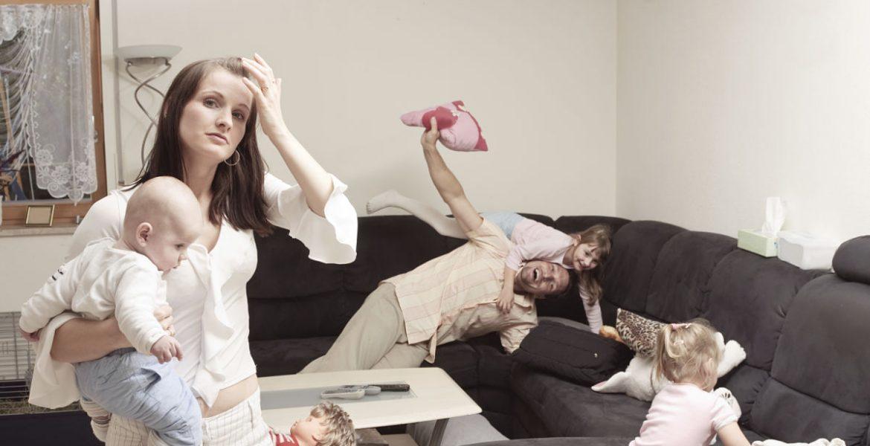 madres estresadas