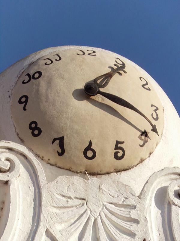 reloj Iglesia del pilar 600