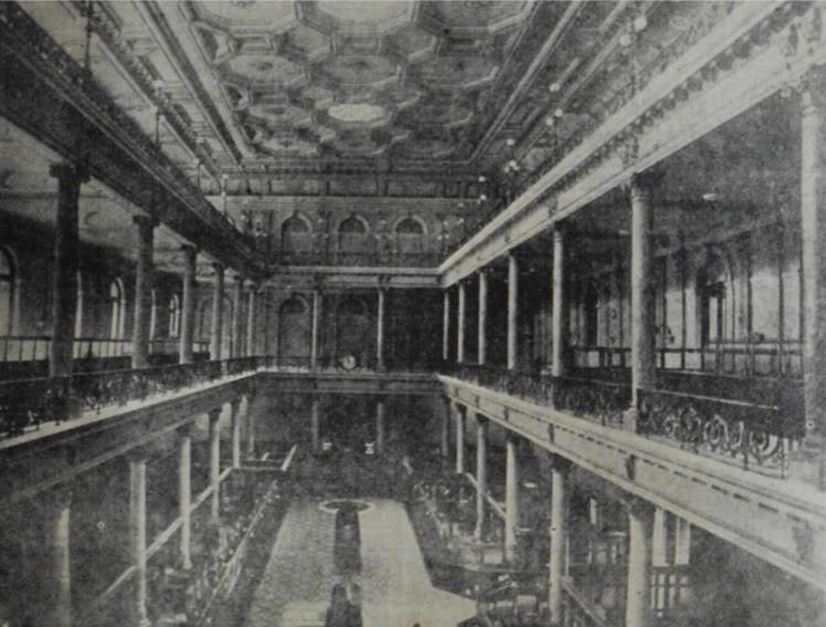 """El primer Teatro Colón fue construido sobre el terreno conocido como """"El Hueco de las Ánimas"""", donde hoy está el Banco Nación"""