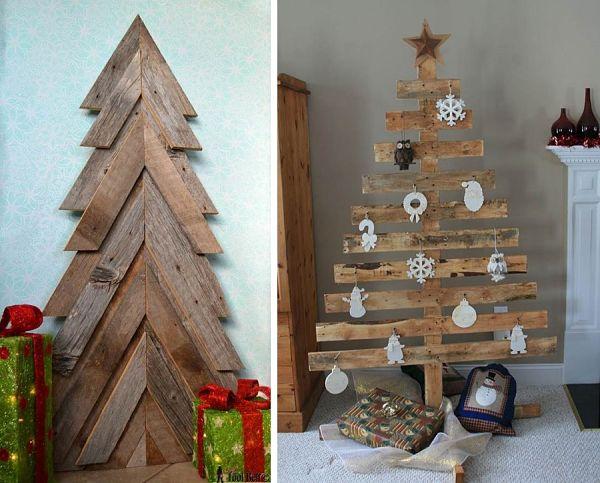 Decoraci Ef Bf Bdn De Navidad Con Troncos