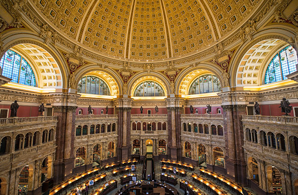 Capitolio Biblioteca Washington