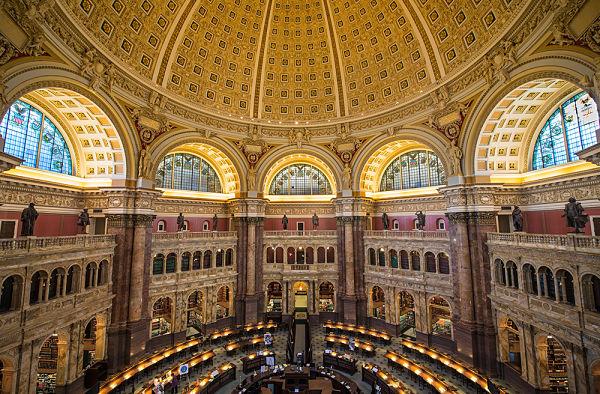 Capitolio Biblioteca Washington