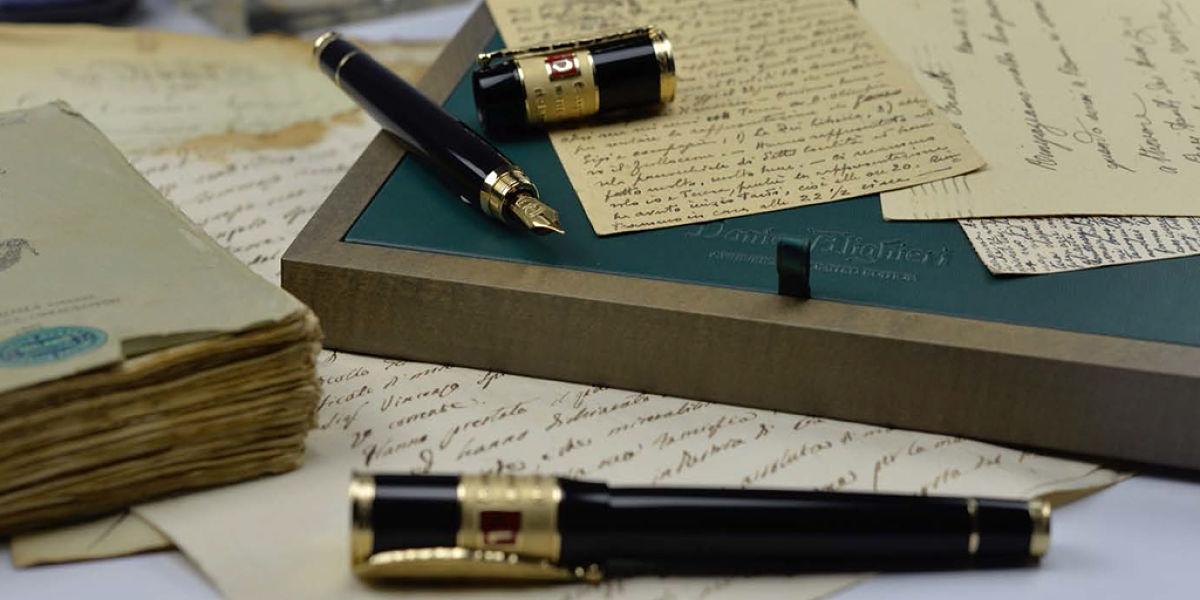 Plumas de diseño para homenajear a célebres escritores – Buena Vibra