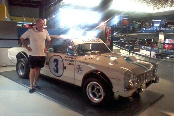 Carlos Costa con el Torino de la Misión argentina en Nürburgring