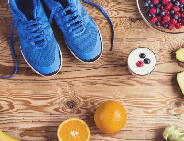 Fitness vida sana nutricion